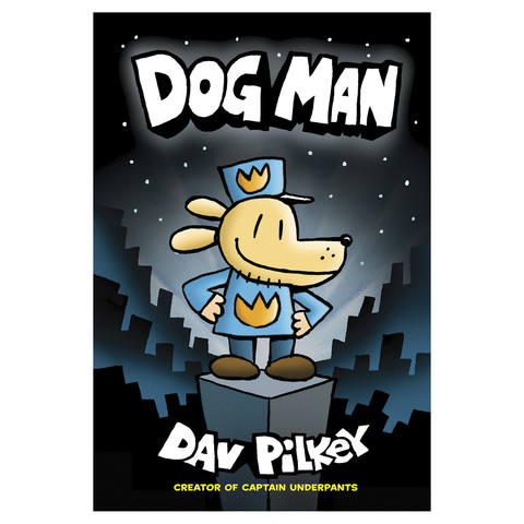 Dog Man by Dav Pilkey - Book