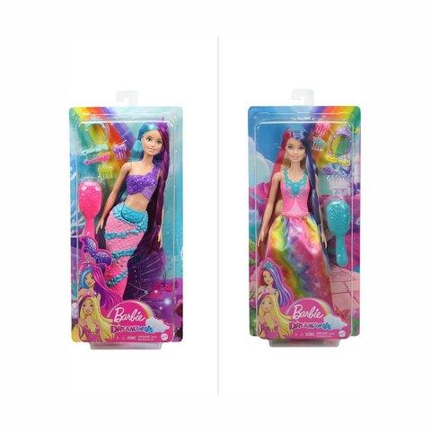 Barbie Long Hair Doll Assorted Kmart
