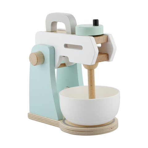 Merveilleux Wooden Toy Kitchen Mixer