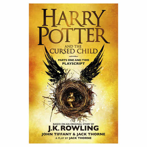 Harry Potter and the Cursed Child by J.K. Rowling - Book