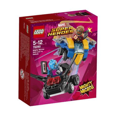 LEGO Marvel Mighty Micros: Star-Lord vs. Nebula - 76090 | Kmart