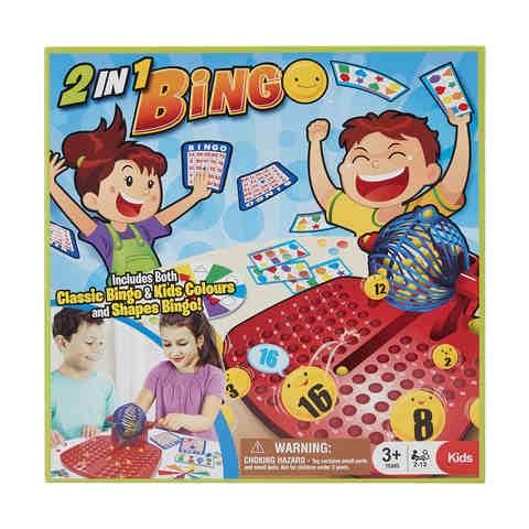 2 In 1 Bingo Game