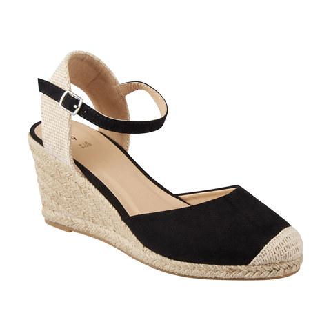 Espadrille Wedge Closed Toe Heels | Kmart