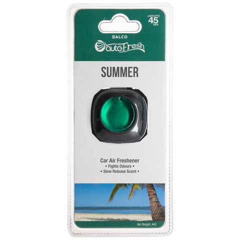 AutoFresh Car Air Freshener - Summer