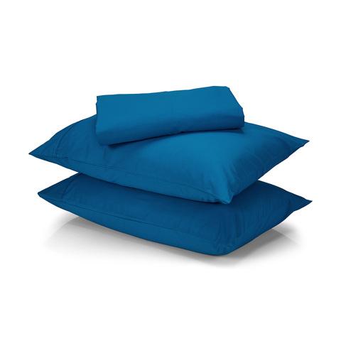 Queen Bed Sheet Set 225tc Teal Kmart
