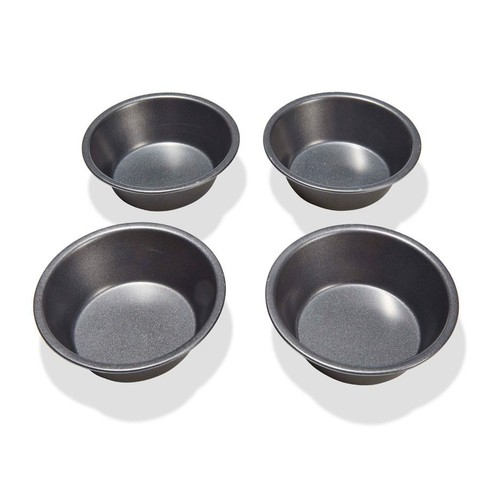 Mini Round Baking Pans Pack Of 4 Kmart