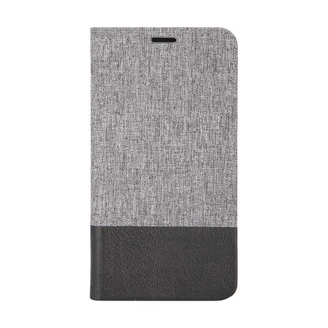 Samsung S5 Flip Case - Grey & Black