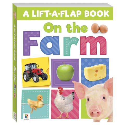 On The Farm: Lift-A-Flap - Book