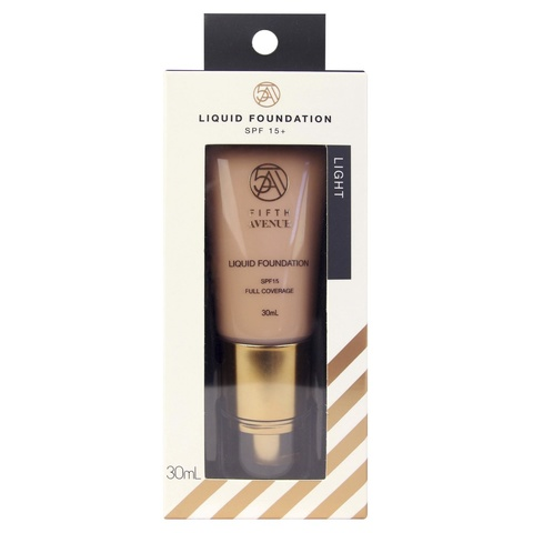 Fifth Avenue Liquid Foundation - 30ml, Light