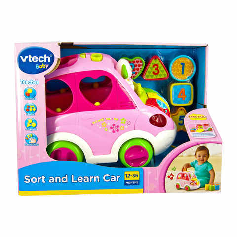VTech Sort & Learn Car - Pink