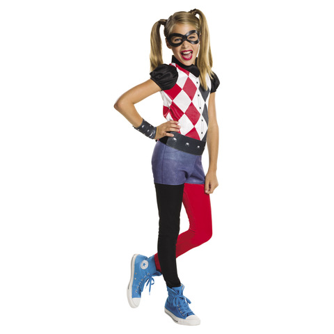 DC Super Hero Harley Quinn Costume