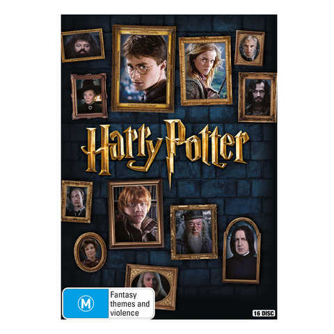 Harry Potter: Complete 8-Film Collection - DVD