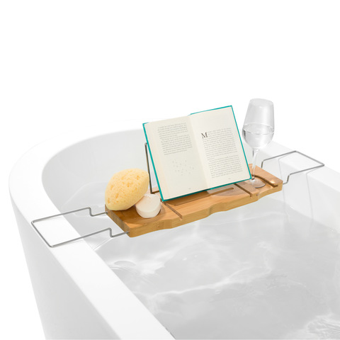 caddy it picture on couples pinterest because one tubs bathroom best images this bath like looks wood tray soaking bathtub