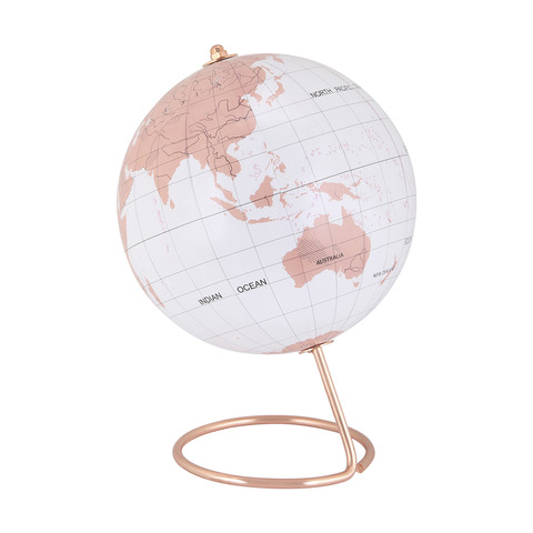 Rose gold look globe kmart rose gold look globe gumiabroncs Gallery