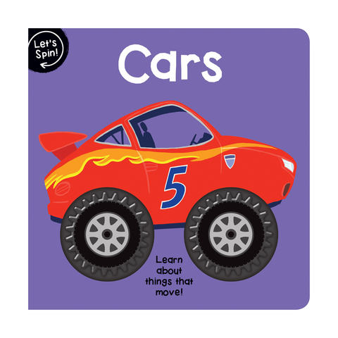 Let's Spin Cars - Book