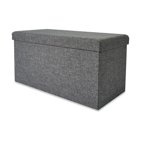 Superb Rectangle Grey Ottoman With Storage Andrewgaddart Wooden Chair Designs For Living Room Andrewgaddartcom