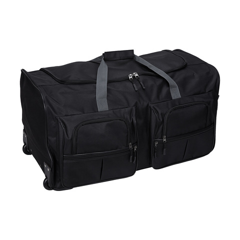 Duffle with Wheels - Black