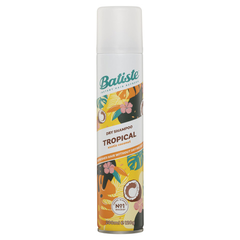 Batiste 120g Instant Hair Refresh Tropical Dry Shampoo