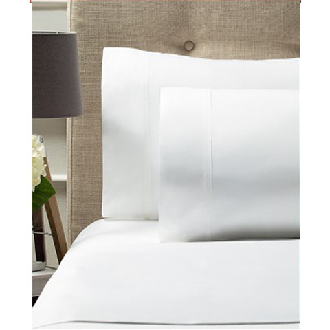 500TC Bed Sheet Set - Queen Bed, White