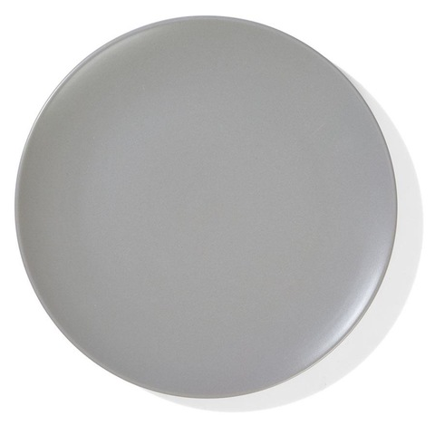 26cm Matte Finish Dinner Plate - Taupe