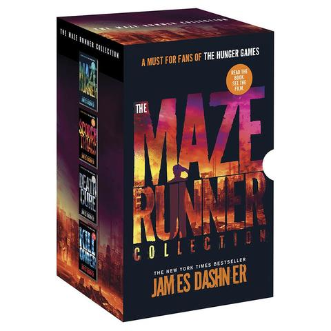 The Maze Runner Collection by James Dashner - Book