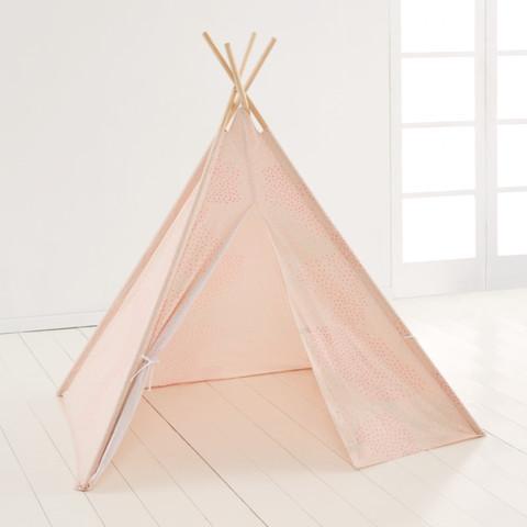 Tee Pee Play Tent - Peach