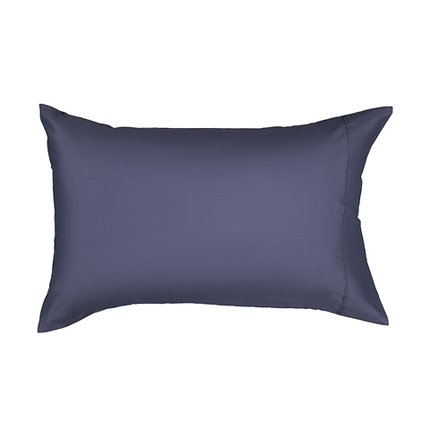225 Thread Count Standard Pillowcase - Denim