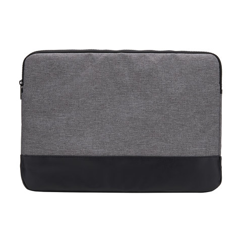 15in. Laptop Sleeve Grey Canvas
