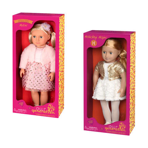 Our Generation Holiday Hope Doll Kmart