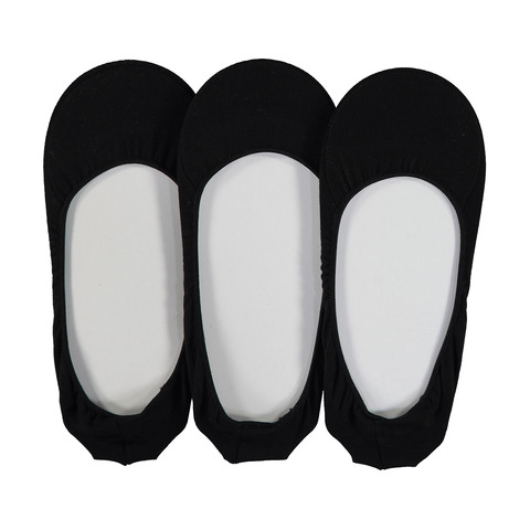 3 Pack Cushioned Footlets