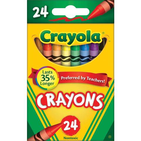 Crayola Crayons - Pack of 24