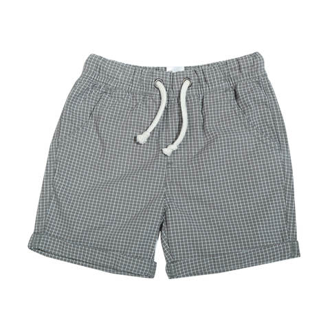 Checkered Pull On Shorts