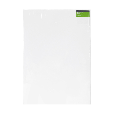 25 Pack C4 Pocket Premium Envelopes