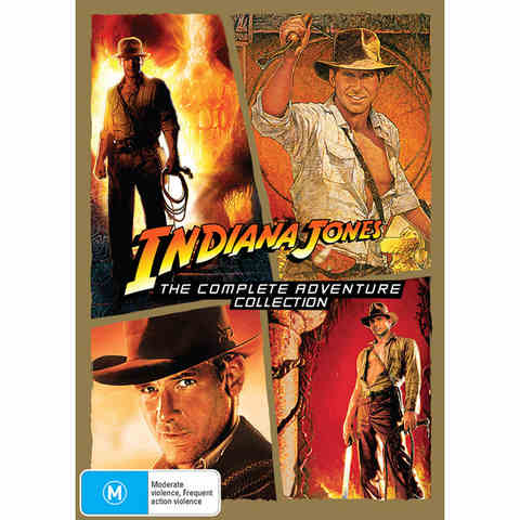 Indiana Jones (The Complete Adventure Collection) - DVD