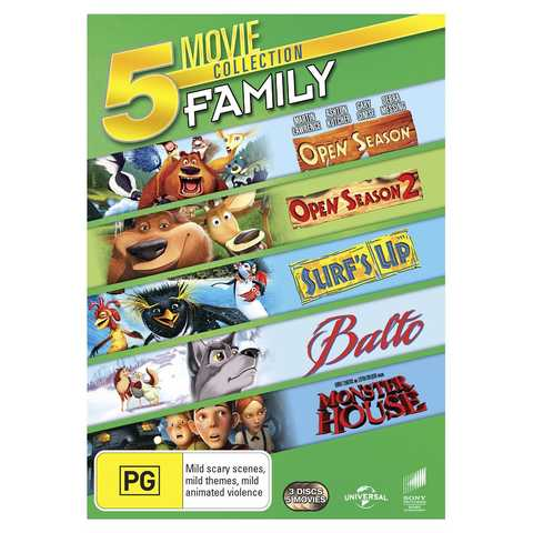 Family Movie Collection - DVD