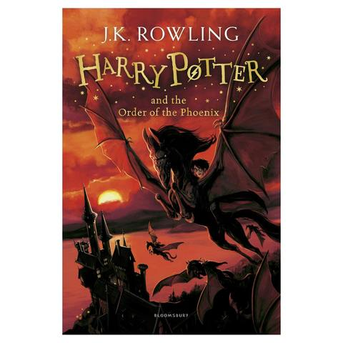 Harry Potter and the Order of the Phoenix by J.K. Rowling - Book