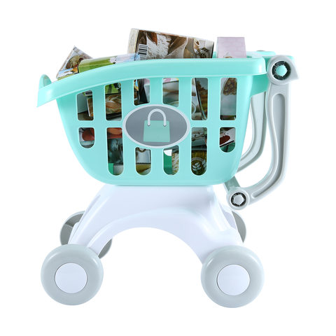 Shopping Trolley and Food