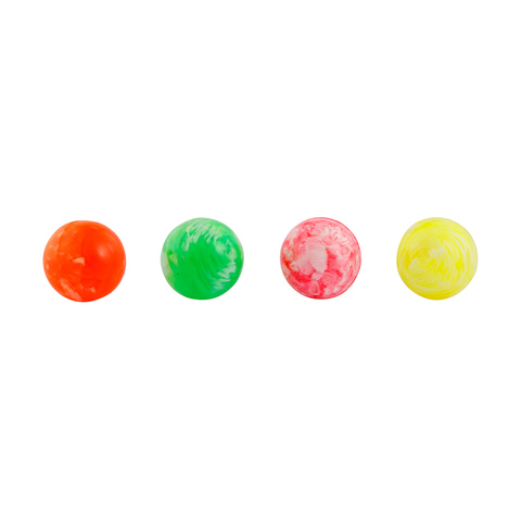 Large Bouncy Balls - Set of 4