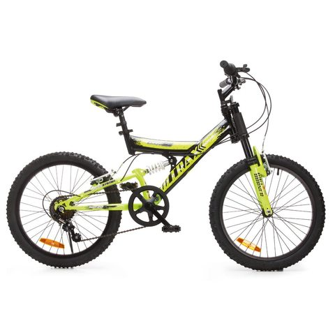 Trax Dual Suspension Kids Bike