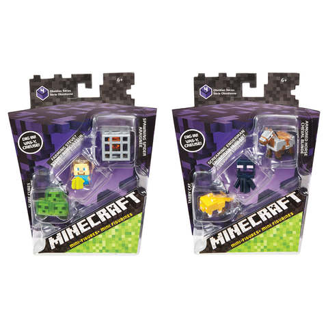 Minecraft Mini-Figure - 3 Pack