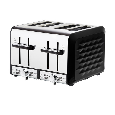 4 Slice Toaster - Pattern