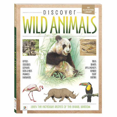 Discover Wild Animals - Book