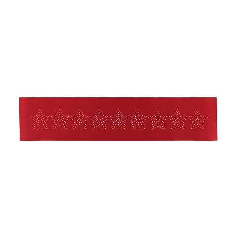 Felt Table Runner - Red