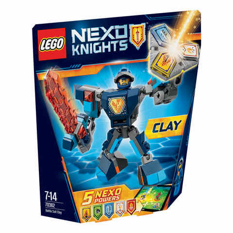 LEGO Nexo Knights Battle Suit Clay - 70362