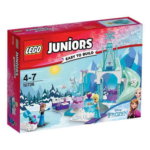 Lego Juniors Anna And Elsa S Frozen Playground 10736 Kmart