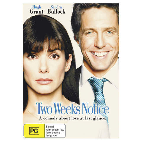 Two Weeks Notice - DVD