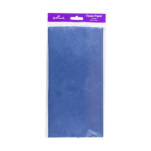"Pack 20/"" x 30/"" Light Blue Quality Premium Grade Color Tissue Paper 24 Sheets"