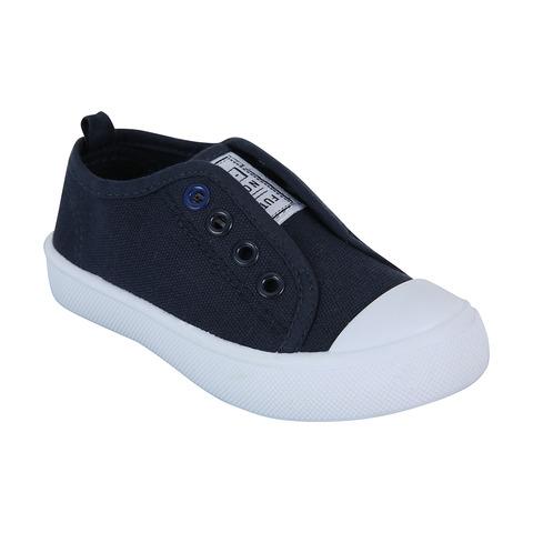 Junior Slip On Canvas Shoes   Kmart