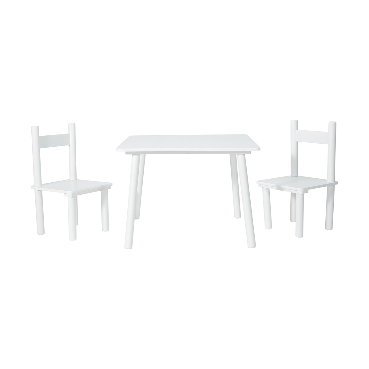 + / - Hover over image to Zoom  sc 1 st  Kmart & Table and Chair Set - White | Kmart