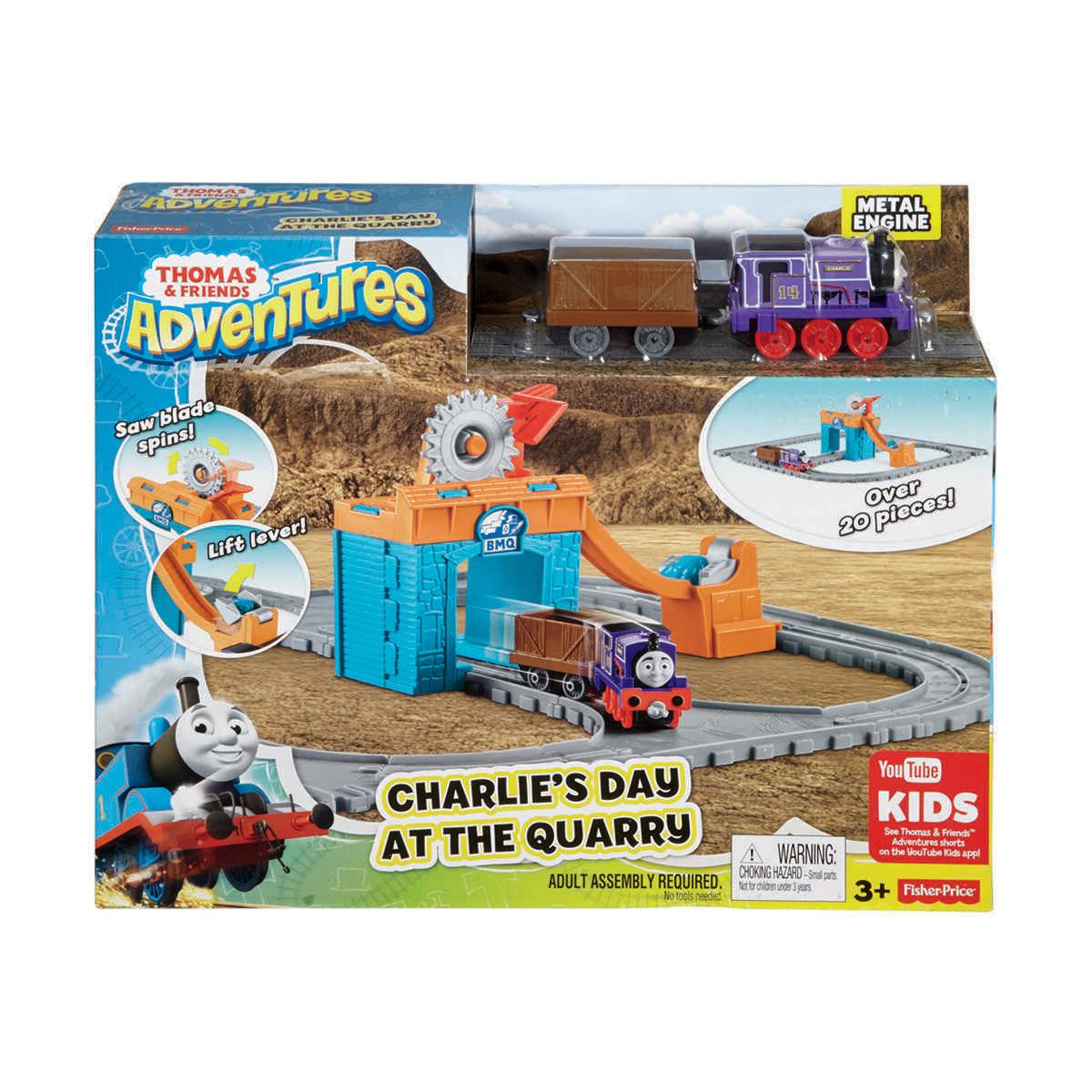Thomas Amp Friends Adventures Train Set Assorted Kmart